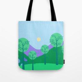 Kawai Landscape Tote Bag