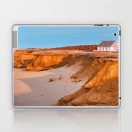 Thunder Cove Beach Cliffs - Golden Pastel Hour Laptop & iPad Skin