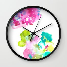 180802 Beautiful Rejection  5| Colorful Abstract Wall Clock