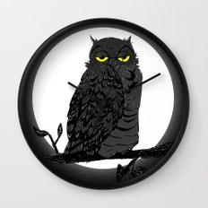 Night Owl V. 2 Wall Clock