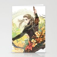 legolas Stationery Cards featuring Legolas by kagalin