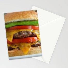 Burger Stationery Cards