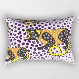 B'alam/Jaguar – Intention and Strength Rectangular Pillow