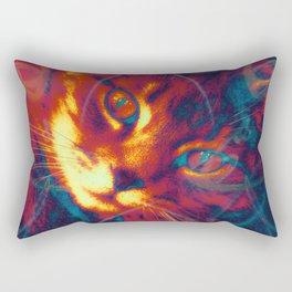 Heat Signature of the Gamma Ray Cat  Rectangular Pillow