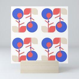 Flor step and repeat Mini Art Print