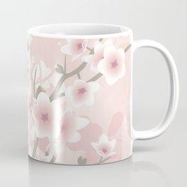 Vintage Floral Cherry Blossom Coffee Mug