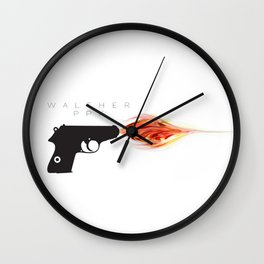 Walther PPK Wall Clock