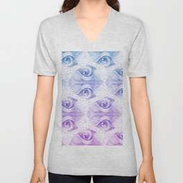 Staring Into Space Unisex V-Neck