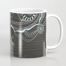 Tangle on dark wood Mug