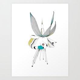 Fushieared Art Print