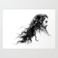 young prince Art Print