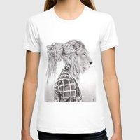 reggae T-shirts featuring Reggae Lion by SABIN.M