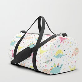 Dinosaur Pattern Duffle Bag
