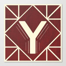 The Letter Y Canvas Print