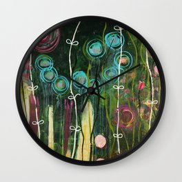 Find the joy in every day Wall Clock