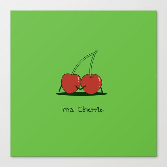 Ma Cherrie Canvas Print