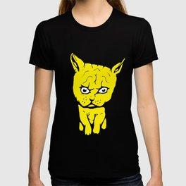 Weird Yellow Kitten T-shirt