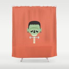 Franken-spine Shower Curtain