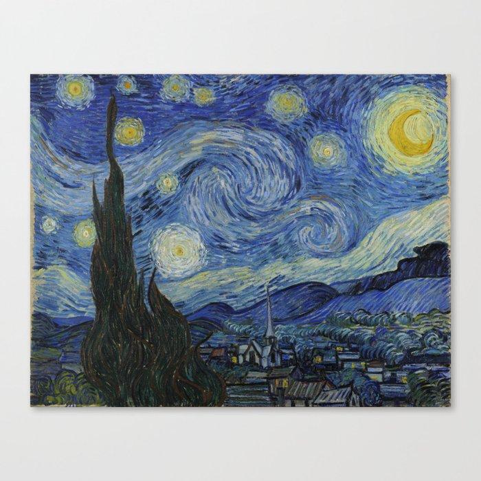 The Starry Night Leinwanddruck
