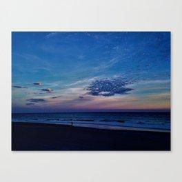 Winter Clouds Canvas Print