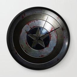 Captain Armor Shield Wall Clock