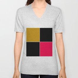Unit 4 colors 1 Unisex V-Neck
