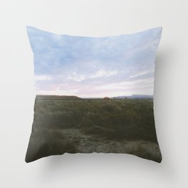 Of The Beaten Track In New Mexico Throw Pillow