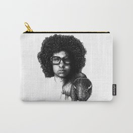 Omar Rodriguez Lopez and his bison Carry-All Pouch