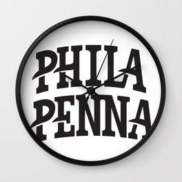 Phila. Penna. Wall Clock