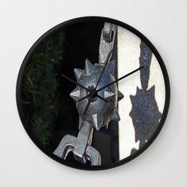 Touching the Wild II Wall Clock