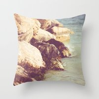 rocky Throw Pillows featuring Rocky by Patrik Lovrin Photography