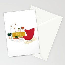 My Living Room Stationery Cards