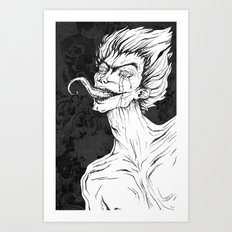 Tongue Art Print