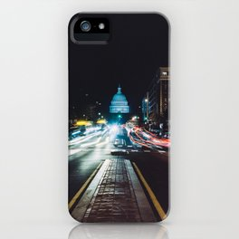 Traffic On North Capitol iPhone Case