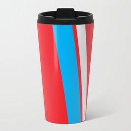 Red Slant Travel Mug