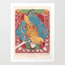 Littlebird Art Print