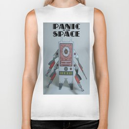Panic At The Space Paper Toy Biker Tank