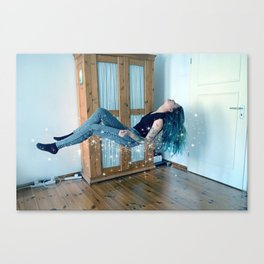 Emergency Exit Only Canvas Print