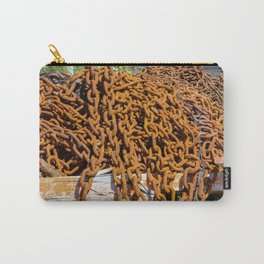 chains....rusting Carry-All Pouch