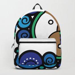 Blue Child - Niño Azul Backpack