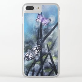 westhay butterfly 3 Clear iPhone Case