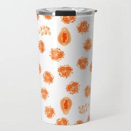 Kiwano, Papaya & Gooseberry • Mandala Travel Mug