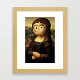 Mona Jenny Framed Art Print