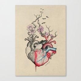 Split/Merge Canvas Print