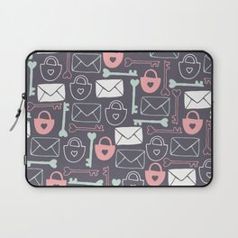 Key to my Heart Laptop Sleeve