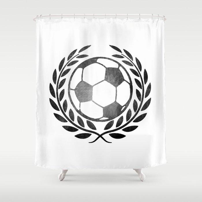 Vintage Football Shower Curtain