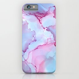 Alcohol Ink - Dreamy Clouds 2 iPhone Case