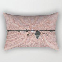 Pink at Night Rectangular Pillow