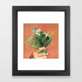 PLANT BASED Framed Art Print