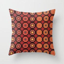 Circles and centers Throw Pillow